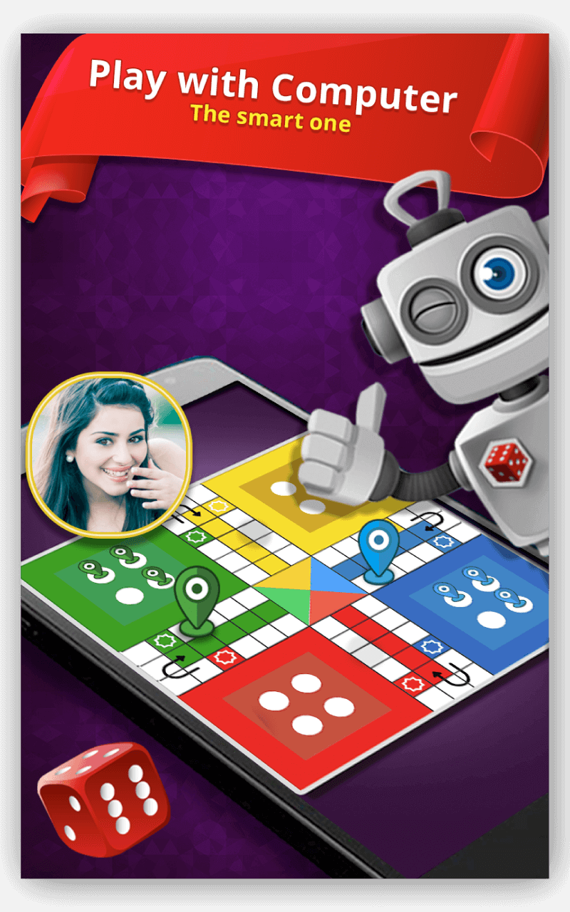 Play Ludo with the smart computer